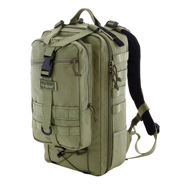 """Тактический рюкзак KAREAREA - компактный городской рюкзак в стиле  """"милитари """" для ежедневного..."""